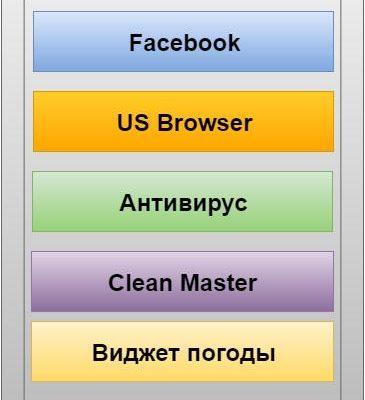 Удалить приложения с андроида